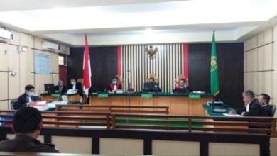 Photo of Dua Orang Terdakwa Korupsi Pengadaan LPJU Tebo Dituntut Hukuman Penjara