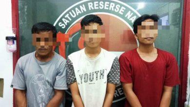 Photo of Tiga Tersangka Kasus Narkoba Yang Diamankan Polsek Tebo Ilir, Ini Identitasnya