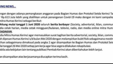 Photo of Adi Rozal Hapus Kerjasama Dengan Media Bulan Juni