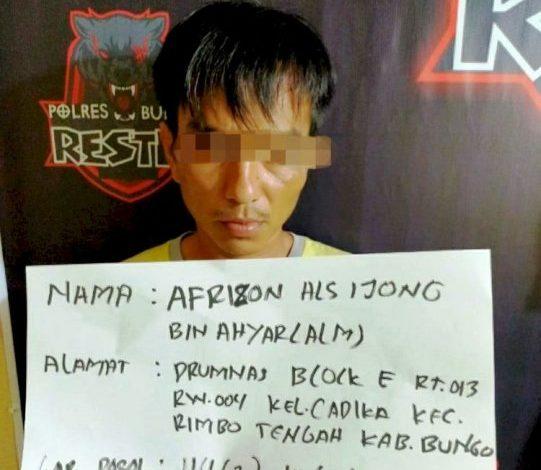 Photo of Aparat Polisi Amankan Ijong Bungo Terkait Narkotika