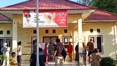 Photo of Kantor Desa Tanjung Pucuk Tebo Disegel Warga dan Mahasiswa