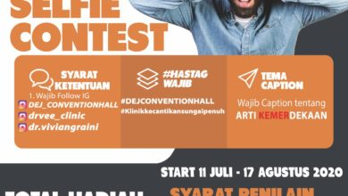 Photo of Yukk Ikutan Funny Selfie Contest Di DEJ Convention Hall Berhadiah Jutaan Rupiah
