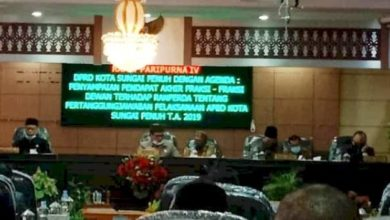 Photo of DPRD Sungai Penuh Terima Laporan Keuangan Pemerintah Daerah