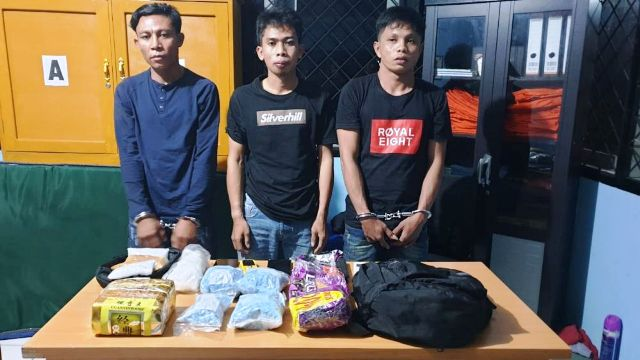 Photo of Kurir Narkotika Antar Provinsi Diamankan BNNP Jambi
