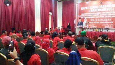 Photo of Ratu Hadiri Rakercabsus PDIP Tanjung Jabung Barat