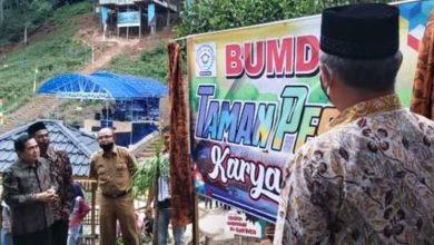 Photo of Peresmian BUMdes Taman Wisata Pesona Karya Bakti Oleh Wako AJB