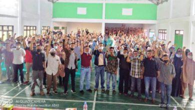 Photo of Pemuda 4 Desa Deklarasi Dukung Ahmadi Zubir-Alvia Santoni