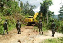 Photo of Alat Berat Eskavator Dikerahkan Di Lokasi TMMD ke-109 Kodim Kerinci