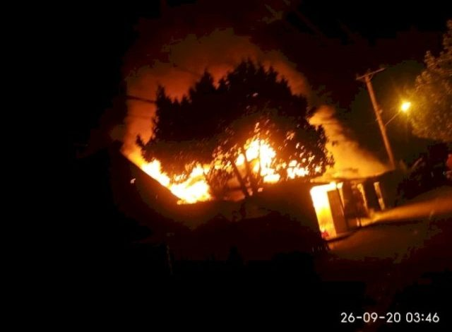 Photo of 1 Unit Rumah Bedeng di Muaro Jambi Habis Terbakar