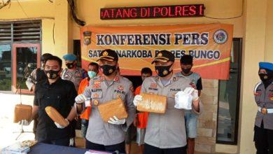 Photo of Empat Pelaku Narkotika Diamankan Polres Bungo