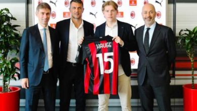 Photo of Hauge Resmi Gabung I Rossoneri