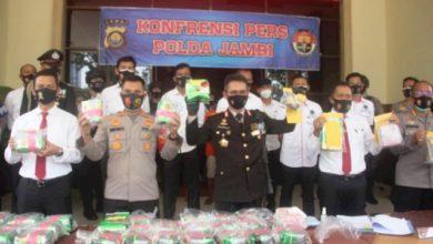 Photo of 31 Kg Sabu Asal Riau Diamankan Polres Muarojambi dan Polda Jambi