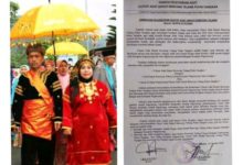 Photo of 4 Depati Alam Kerinci Tolak Adat Ujung Kerajaan Pagaruyung Rencong Telang