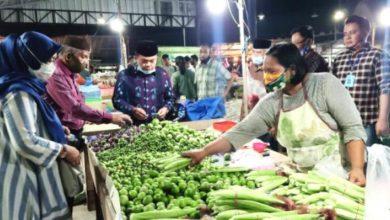 Photo of Tengah Malam Haris Blusukan ke Pasar Induk Talang Gulo