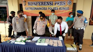 Photo of Jaringan Narkoba Internasional Diamankan Polres Bungo-Jambi
