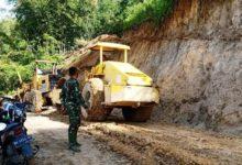 Photo of Alat Berat Masih Stanby di Lokasi TMMD Sungai Langkap