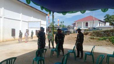 Photo of Persiapan Penutupan TMMD Ke-109 Di Desa Sungai Langkap