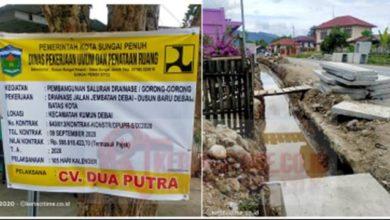 Photo of Kualitas Pekerjaan Drainase Desa Debai Dipertanyakan