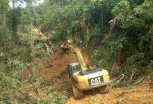 Photo of Akses Jalan dari Desa Sungai Langkap – Desa Mukai Pintu Mulai Bisa Dilewati