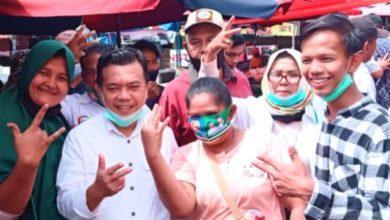 Photo of Masih di Bungo, Al Haris Blusukan ke Pasar dan Silaturahmi dengan 3 Tim Sayap Haris-Sani
