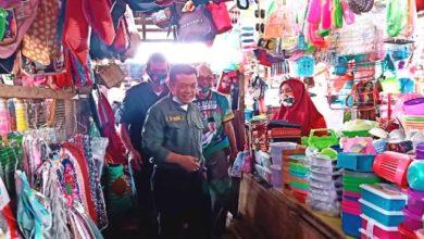 Photo of Blusulan ke Pasar Atas Sarolangun, Al Haris Diteriaki Gubernur Jambi