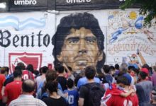 Photo of Diego Maradona Tutup Usia
