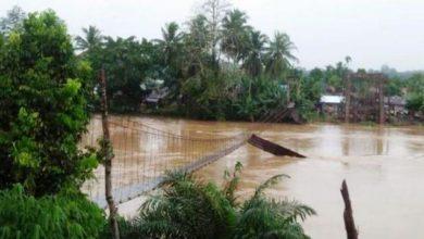 Photo of Jembatan Gantung Desa Karang Birahi Ambruk
