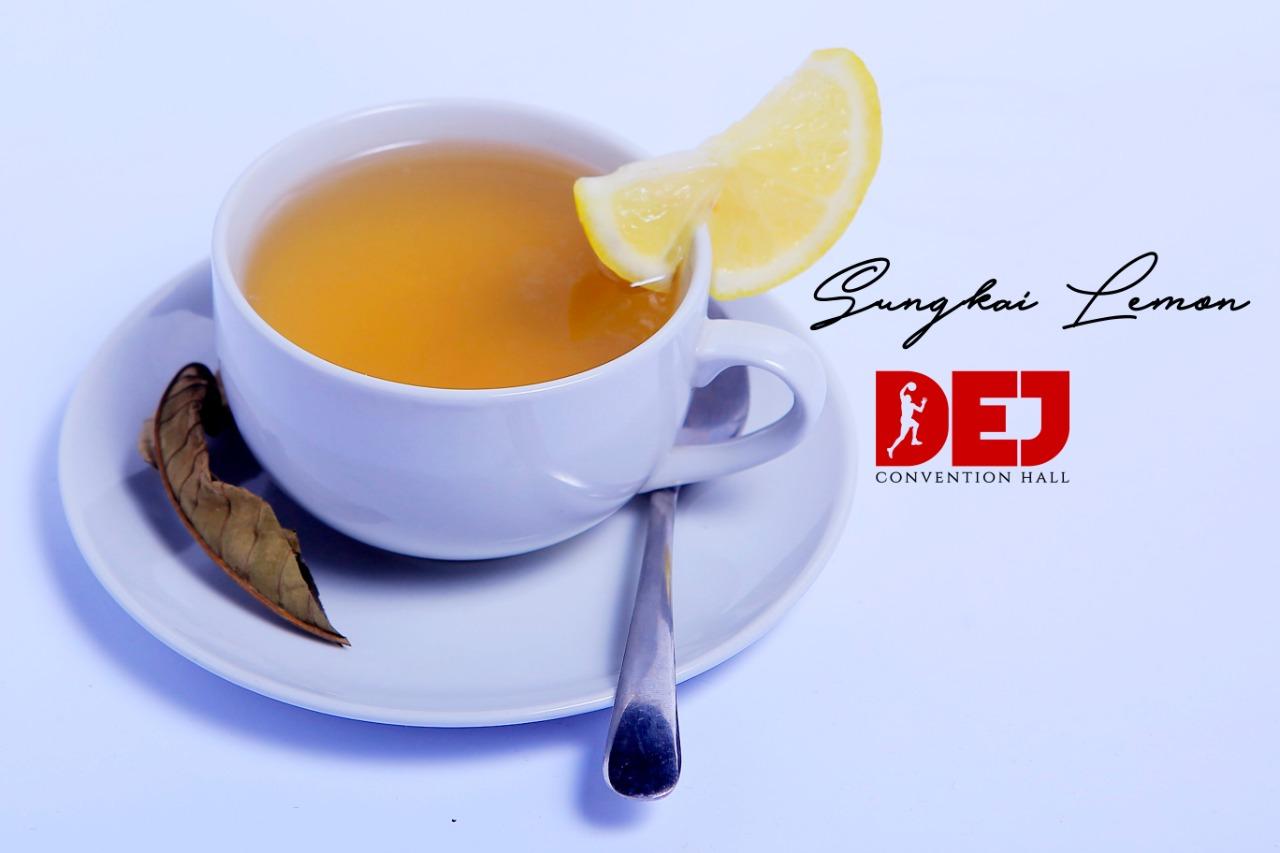 Minuman Daun Sungkai Lemon